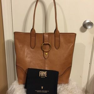 Frye Large Leather Harness Tote